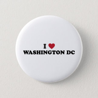 I Love Washington DC Pinback Button