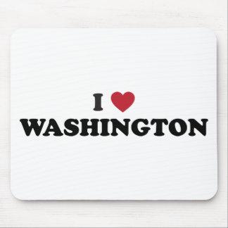 I Love Washington Mouse Pad