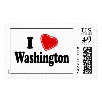 I Love Washington Stamps