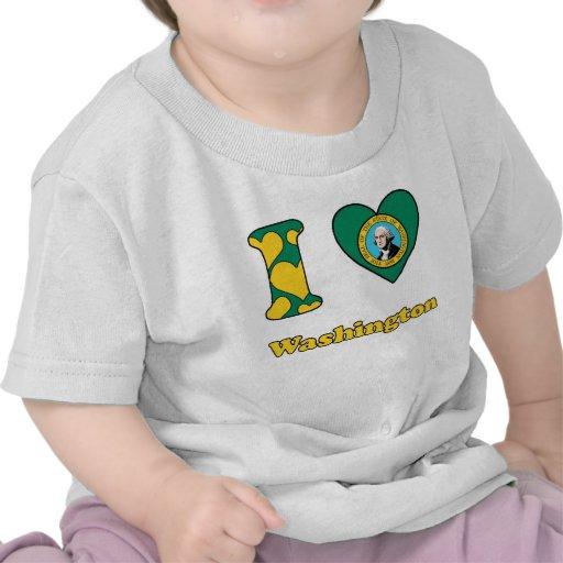 I love Washington T Shirt