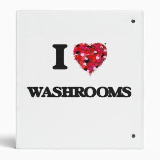 I love Washrooms Binder