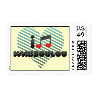 I Love Wassoulou Stamps