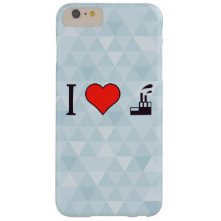 I Love Waste Disposal Sector Barely There iPhone 6 Plus Case