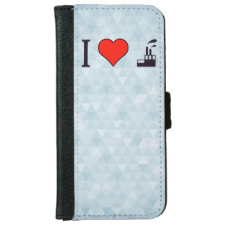 I Love Waste Disposal Sector iPhone 6/6s Wallet Case