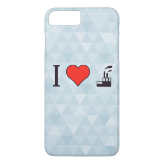 I Love Waste Disposal Sector iPhone 8 Plus/7 Plus Case