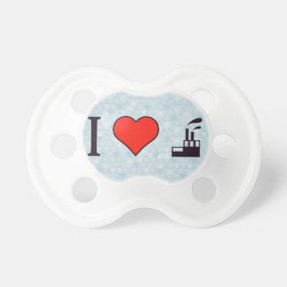 I Love Waste Disposal Sector Pacifier