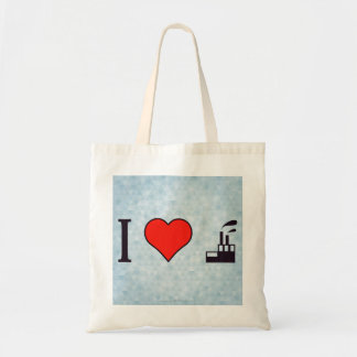 I Love Waste Disposal Sector Tote Bag