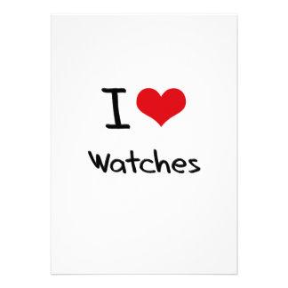 I love Watches Custom Invites
