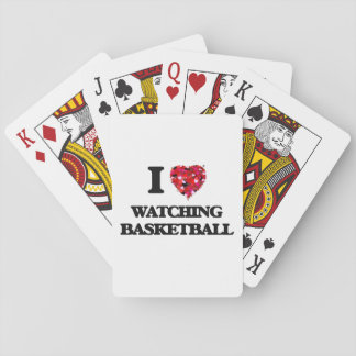 I love Watching Basketball Playing Cards