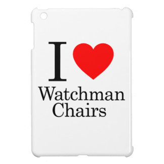 I Love Watchmen Chairs Cover For The iPad Mini