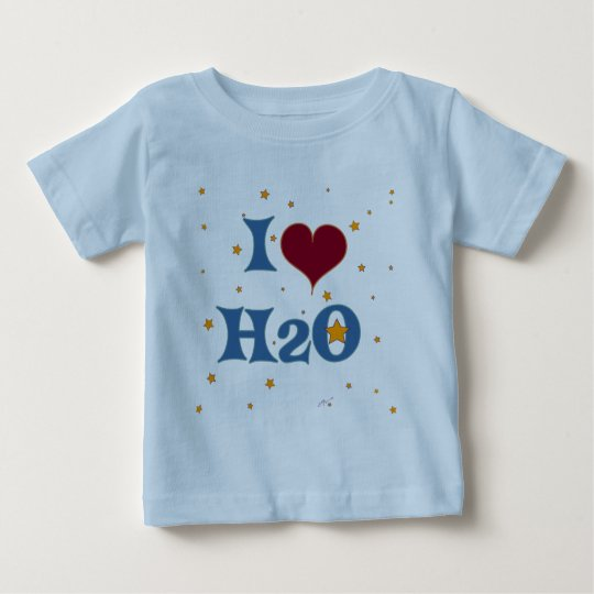 I Love Water! Baby T-Shirt
