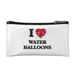 I love Water Balloons Cosmetic Bag
