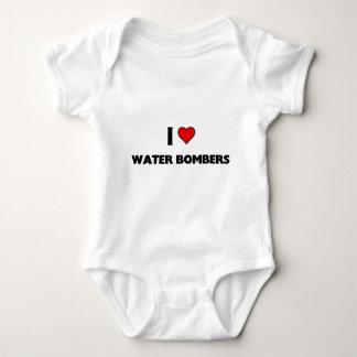 I love Water bombers Baby Bodysuit