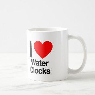 i love water clocks mug