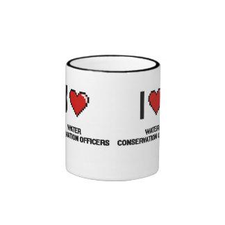 I love Water Conservation Officers Ringer Mug