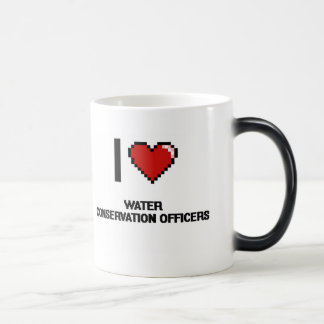 I love Water Conservation Officers Morphing Mug