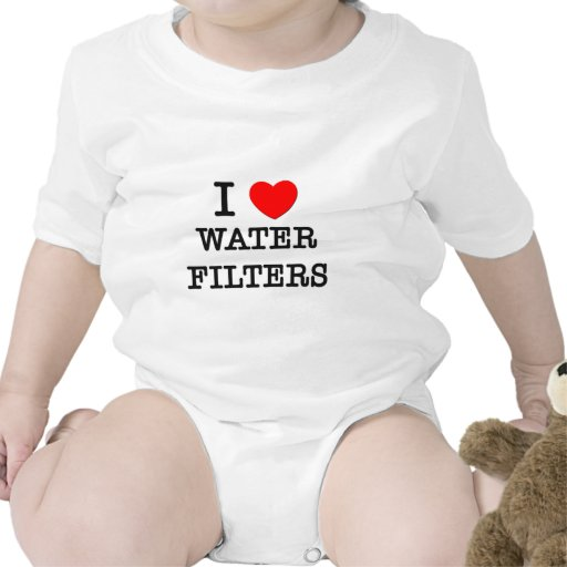 I Love Water Filters Baby Creeper