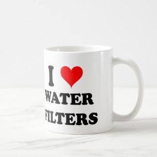 I Love Water Filters Coffee Mug