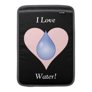 I Love Water! Sleeves For MacBook Air
