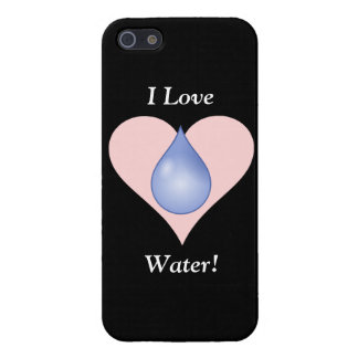 I Love Water! Cover For iPhone 5
