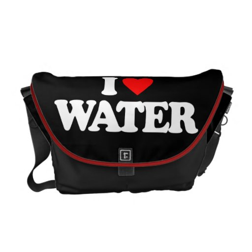 I LOVE WATER COURIER BAG
