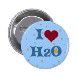 I Love Water! Pins