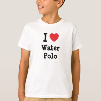 I love Water Polo heart custom personalized