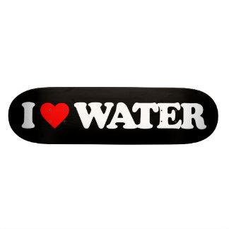 I LOVE WATER SKATEBOARD