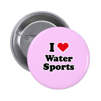 I love water sports buttons