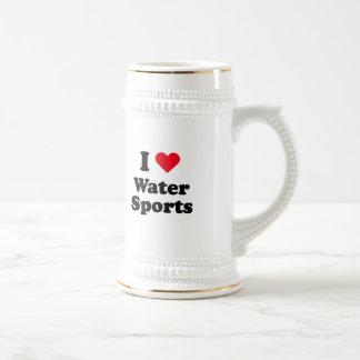 I love water sports mug