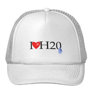 I Love Water Swimmer Trucker Hat