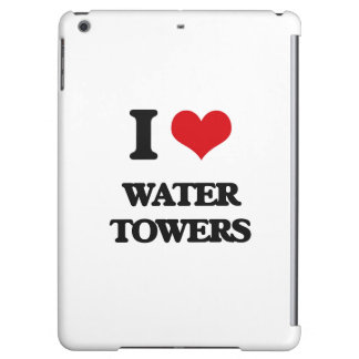 I love Water Towers Cover For iPad Air