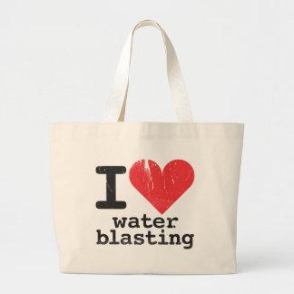 I Love Waterblasting Tote Bag