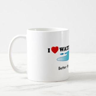 I Love Waterboarding  Standard Mug