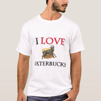 I Love Waterbucks T-Shirt