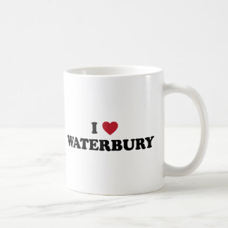 I Love Waterbury Connecticut Coffee Mug