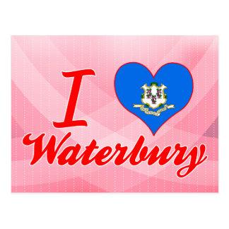 I Love Waterbury, Connecticut Postcards