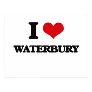 I love Waterbury Post Card