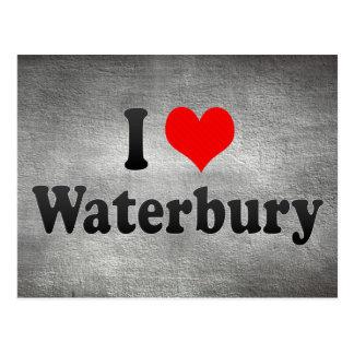 I Love Waterbury, United States Post Card