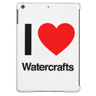 i love watercrafts cover for iPad air