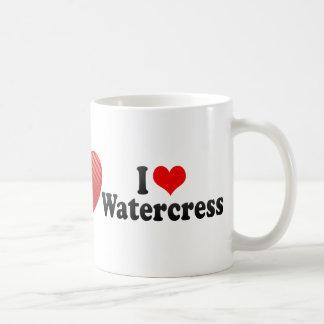 I Love Watercress Coffee Mug