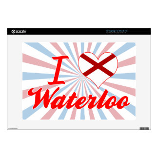 I Love Waterloo Alabama Decal For Laptop