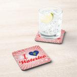 I Love Waterloo, Oregon Drink Coaster