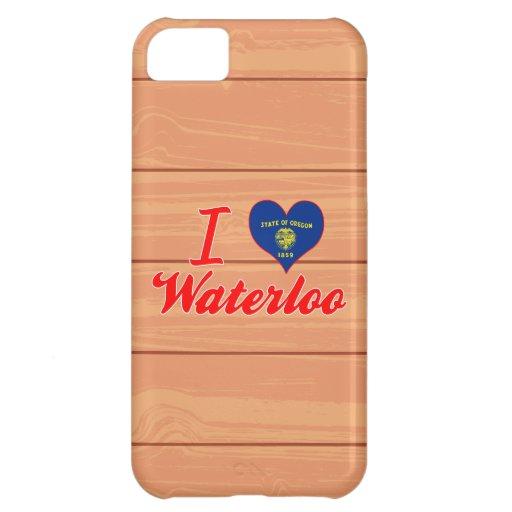 I Love Waterloo, Oregon iPhone 5C Case