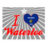 I Love Waterloo, Wisconsin Post Cards