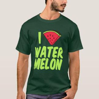 I Love Watermelon Cute Summer T-Shirt