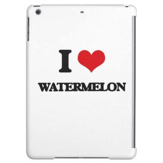 I love Watermelon iPad Air Cover