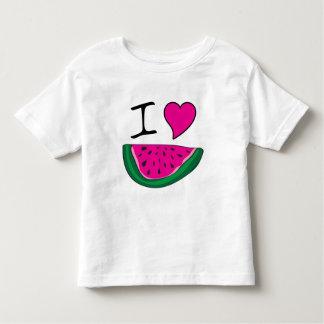 I Love Watermelon Toddler T-shirt