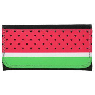 I Love Watermelon Wallets