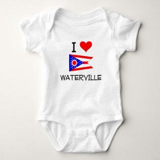 I Love Waterville Ohio Baby Bodysuit